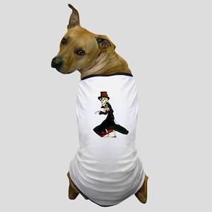Funny steampunk skeleton Dog T-Shirt