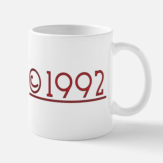 1992 Mugs