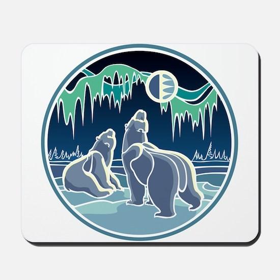 Native Bear Art Mousepad