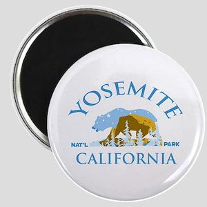 Yosemite. Magnet Magnets