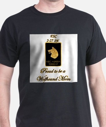 Proud Wolfhound Mom T-Shirt