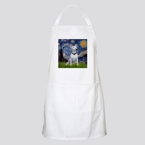 Starry Night & Bull Terrier BBQ Apron