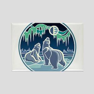 Native Bear Art Magnets
