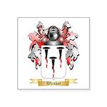 Whisker Square Sticker 3