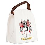 Whisker Canvas Lunch Bag