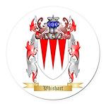 Whishart Round Car Magnet