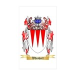 Whishart Sticker (Rectangle 50 pk)