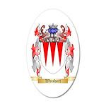 Whishart 20x12 Oval Wall Decal