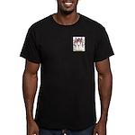 Whiscard Men's Fitted T-Shirt (dark)