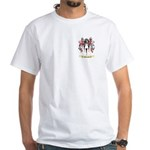 Whiscard White T-Shirt