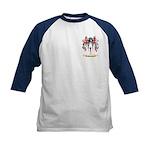 Whiscard Kids Baseball Jersey