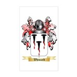 Whiscard Sticker (Rectangle)