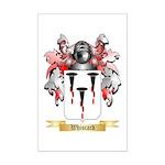 Whiscard Mini Poster Print