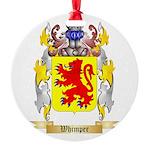 Whimper Round Ornament