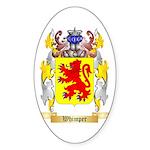 Whimper Sticker (Oval 50 pk)