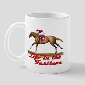 Race Horse, Life in the Fastl Mug