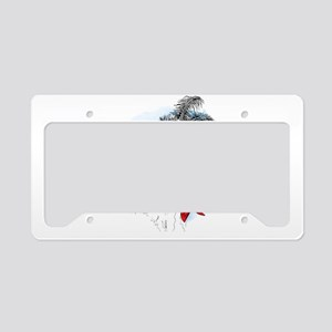 Pirate Kitty License Plate Holder
