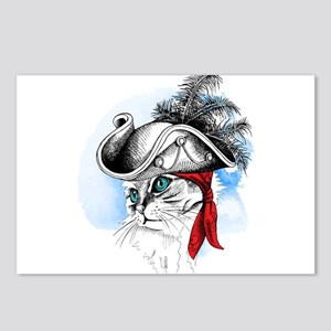 Pirate Kitty Postcards (Package of 8)