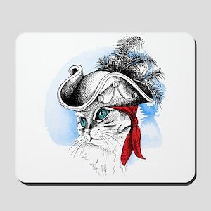 Pirate Kitty Mousepad