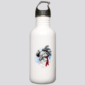 Pirate Kitty Water Bottle