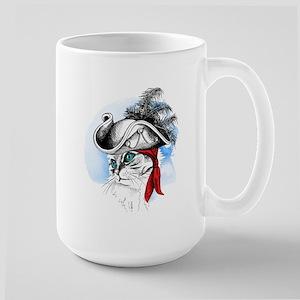 Pirate Kitty Mugs