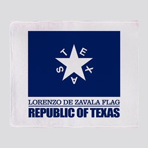 Zavala Flag Throw Blanket