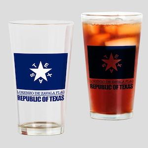 Zavala Flag Drinking Glass