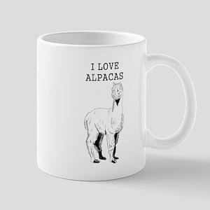 I Love Alpacas Mugs