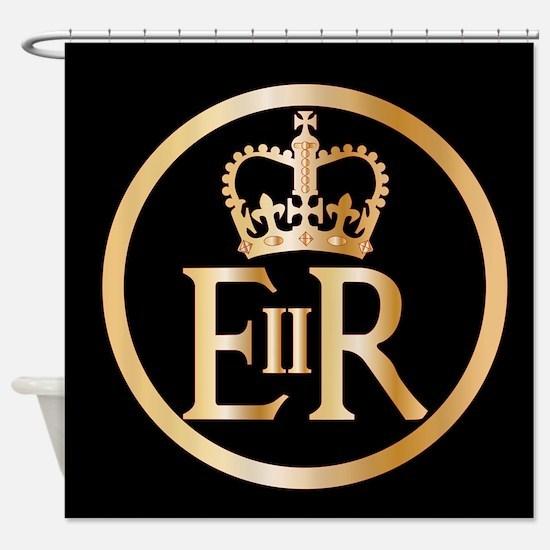 Elizabeth's Reign Emblem Shower Curtain