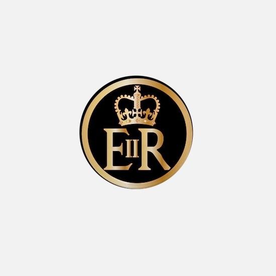Elizabeth's Reign Emblem Mini Button