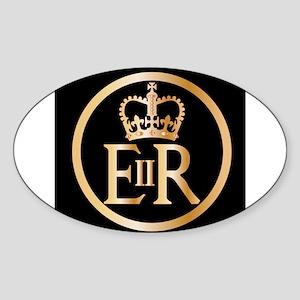 Elizabeth's Reign Emblem Sticker
