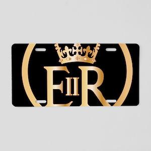 Elizabeth's Reign Emblem Aluminum License Plate