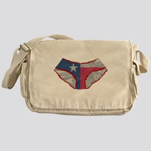 Texas Flag Knickers Messenger Bag