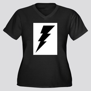 The Lightning Bolt 6 Shop Women's Plus Size V-Neck