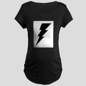 The Lightning Bolt 6 Shop Maternity Dark T-Shirt