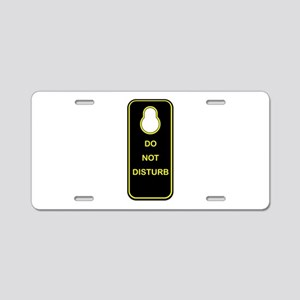 Door Knob Sign Aluminum License Plate