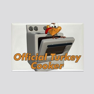 Official Turkey Cooker Rectangle Magnet