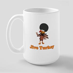 Jive Turkey Large Mug