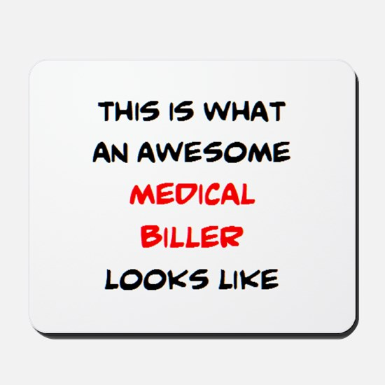 awesome medical biller Mousepad