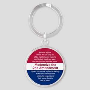 Modernize 2nd Amendment Keychains