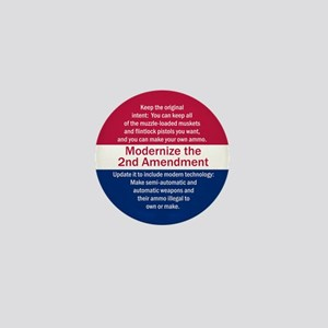 Modernize 2nd Amendment Mini Button