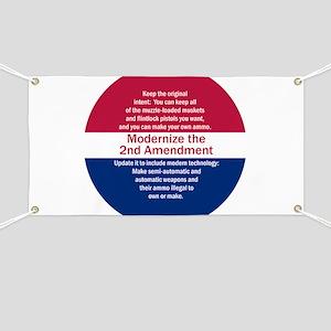 Modernize 2nd Amendment Banner