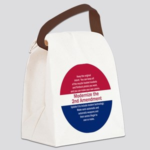 Modernize 2nd Amendment Canvas Lunch Bag