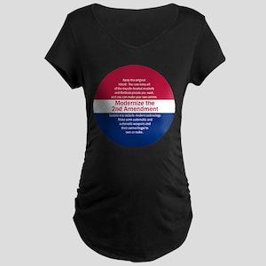 Modernize 2nd Amendment Maternity T-Shirt