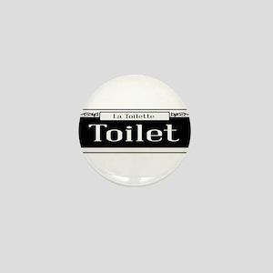 New Orleans Toilet Sign Mini Button