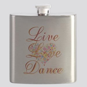 Live Love Personalize Flask