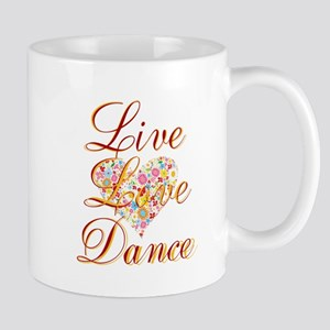 Live Love Personalize Mugs