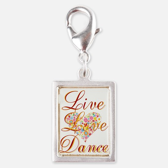 Live Love Personalize Charms