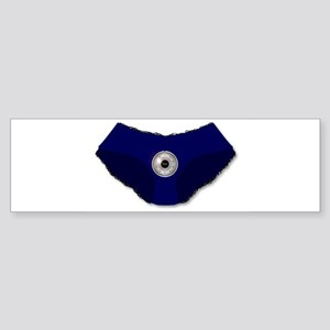 Knickers Security lock Bumper Sticker