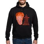 Cheese Faced Trump Hoodie (dark)